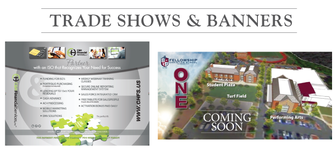 Tradeshows Banners